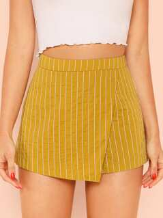 Overlap Front Shorts
