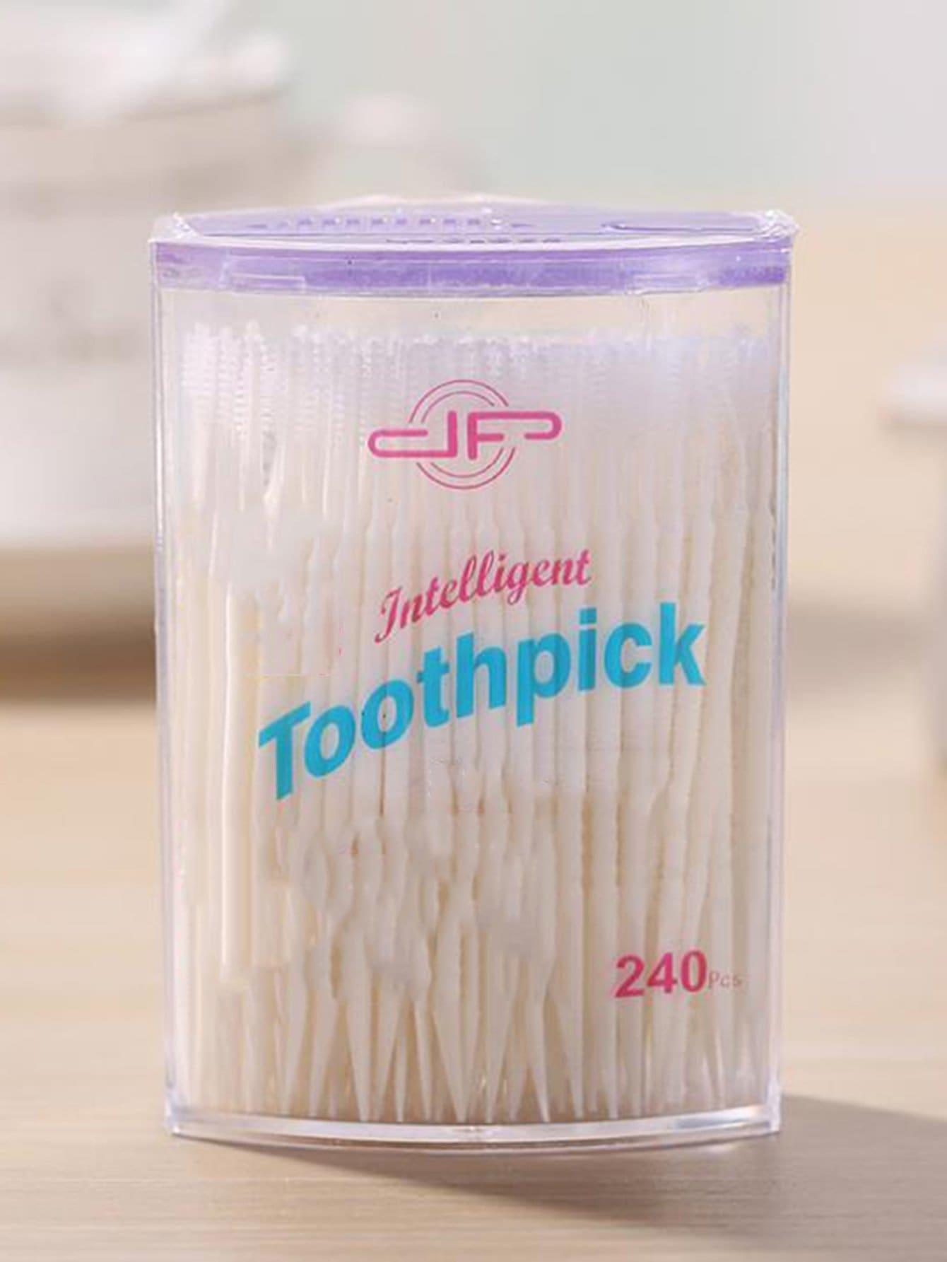 Купить Одноразовая двуглавая зубочистка 240 шт., null, SheIn