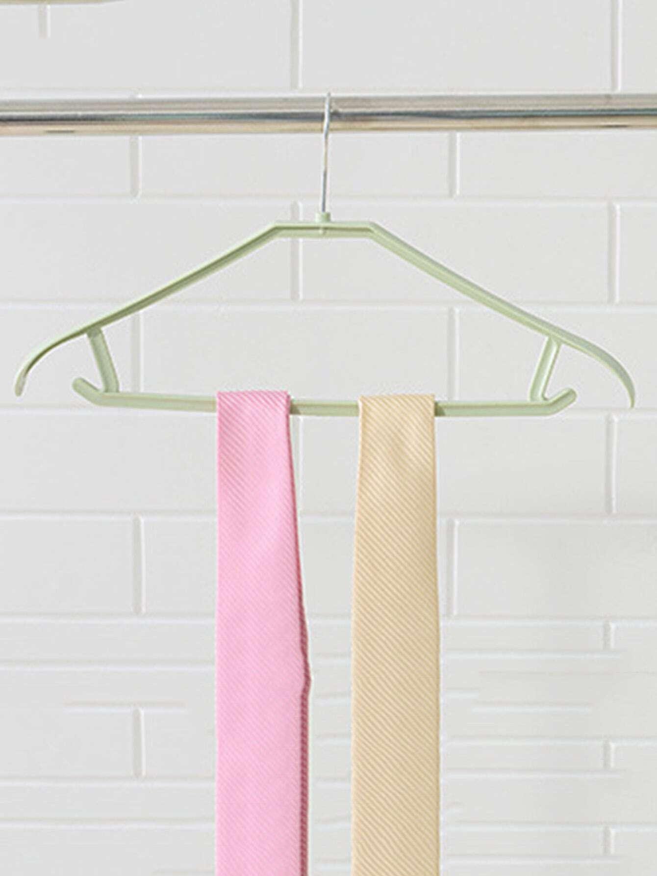 Plastic Cloth Hanger 1pc cloth hanger 11pcs