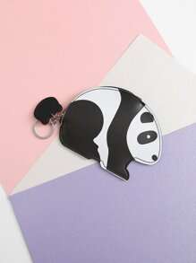 Panda Shaped Coin Purse