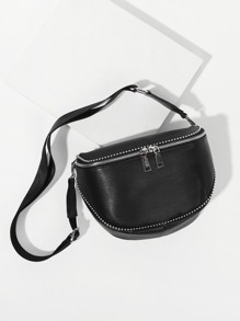 Studded Trim Bum Bag