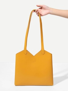 V Cut Shoulder Bag