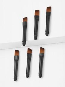 Two Head Makeup Brush 6pcs