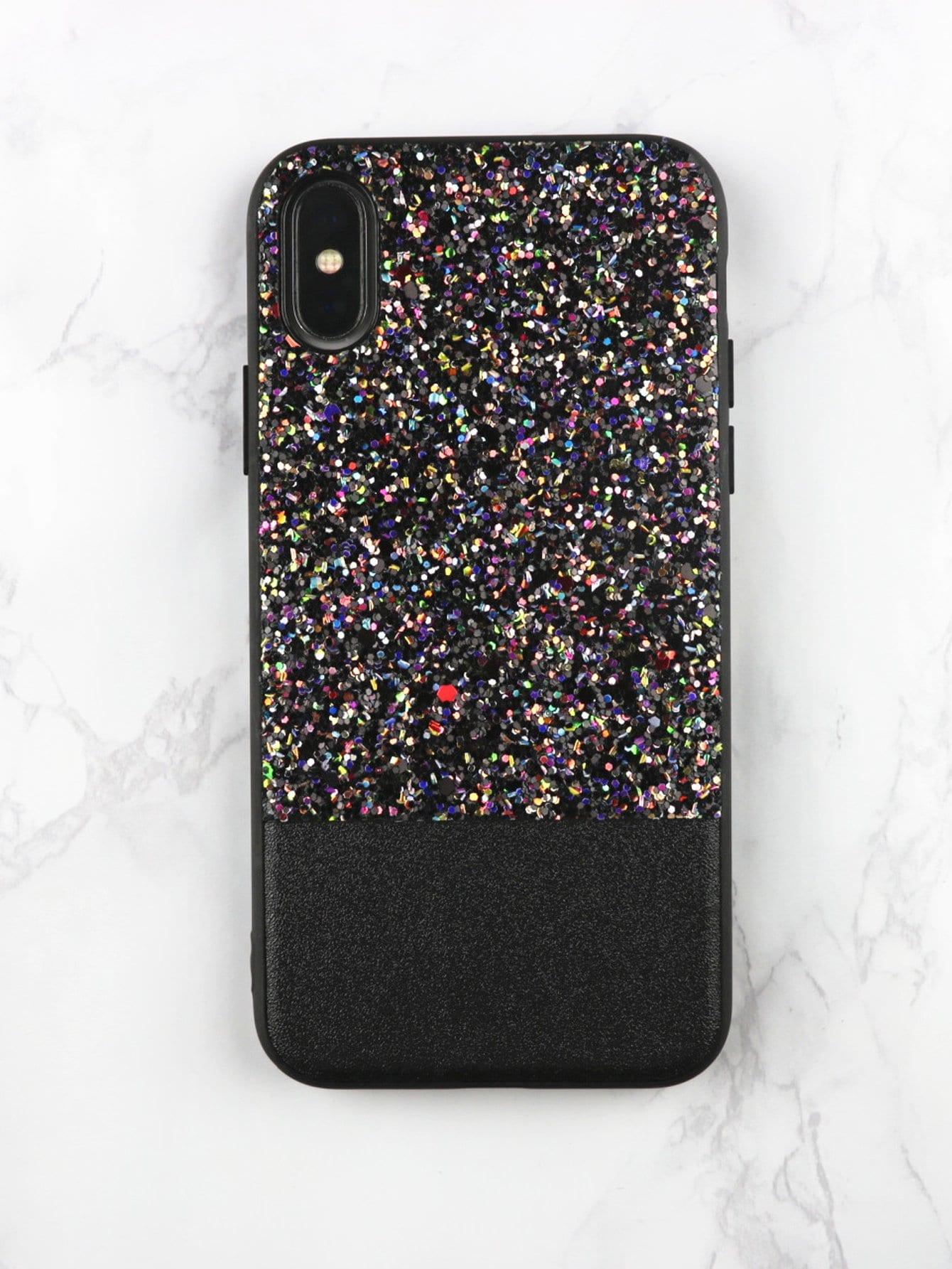 Sequin Decorated iPhone Case