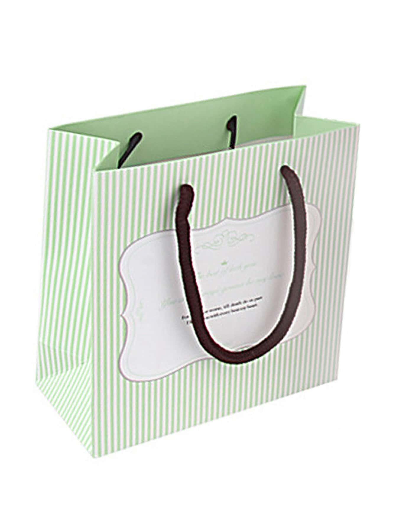 Купить Полоса печатная бумажная сумка, null, SheIn