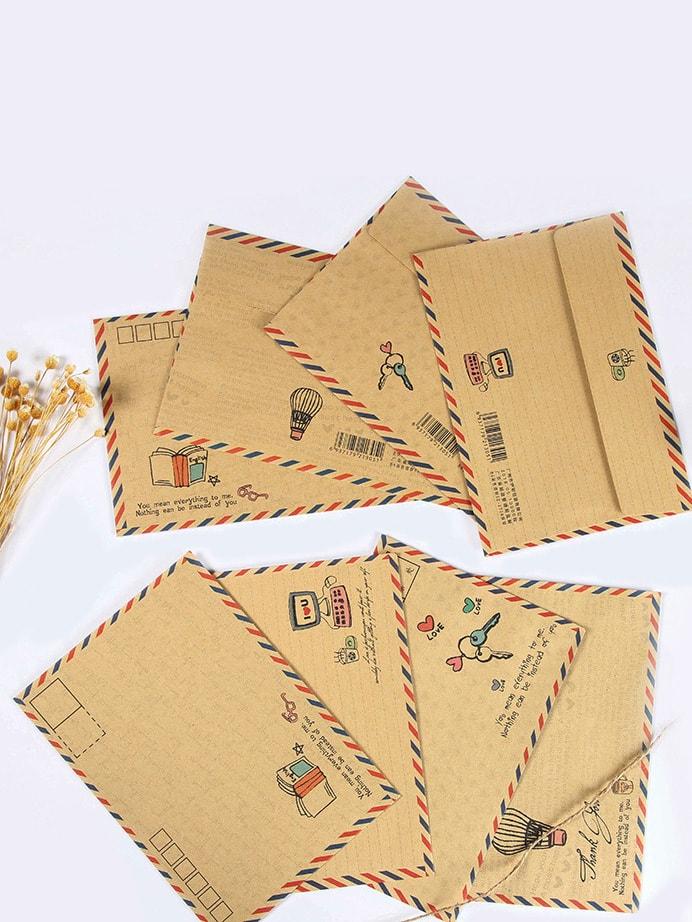 Купить Случайный конверт 8 шт., null, SheIn