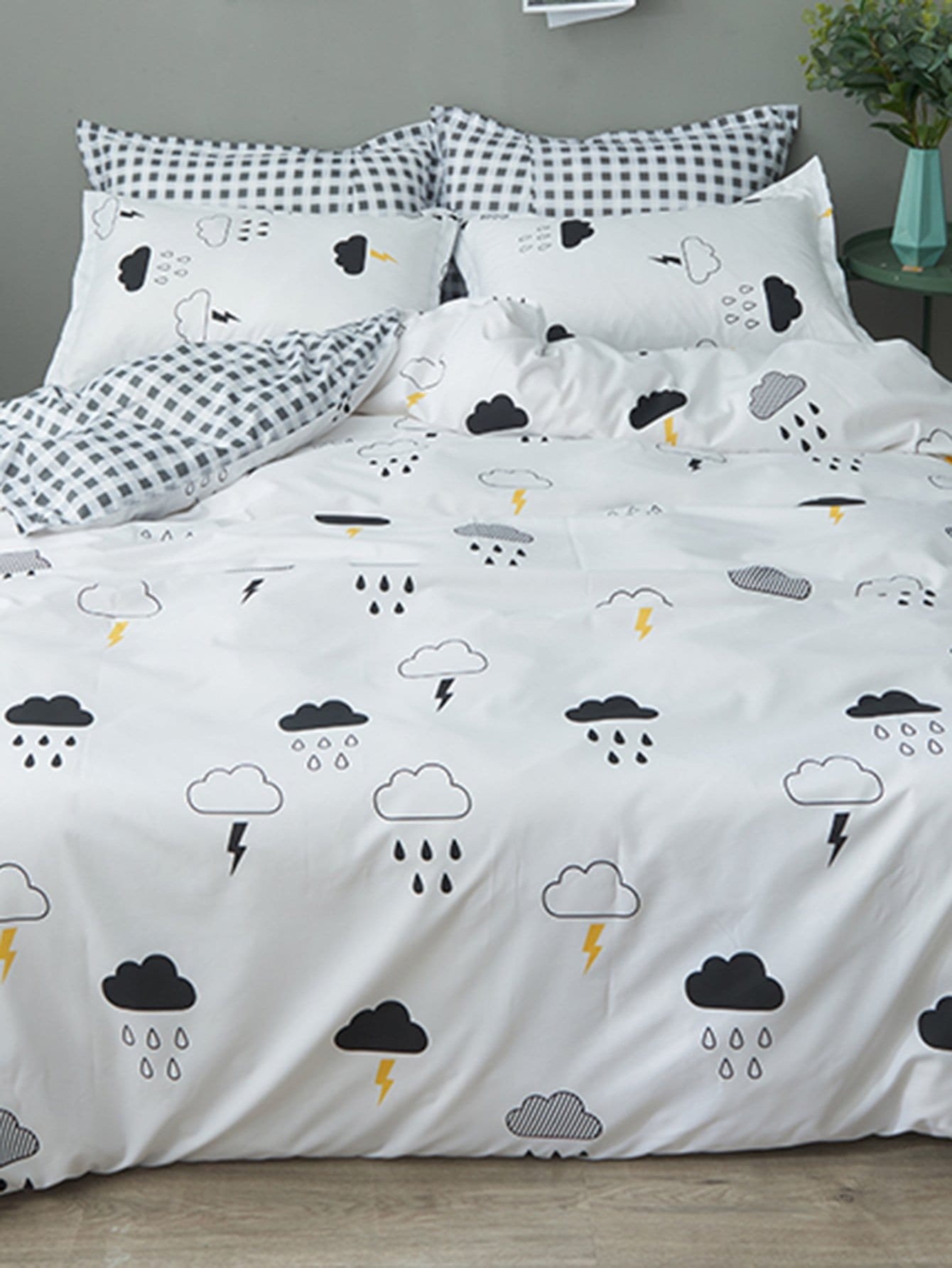 Cloud Print Sheet Set