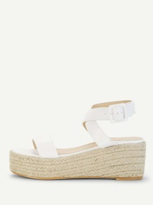 Espadrille Flatform Sandals