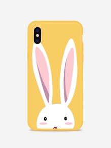 Rabbit Print iPhone Case