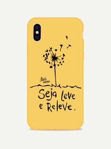 Dandelion Print iPhone Case