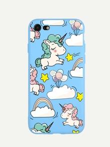 Cartoon Print iPhone Case