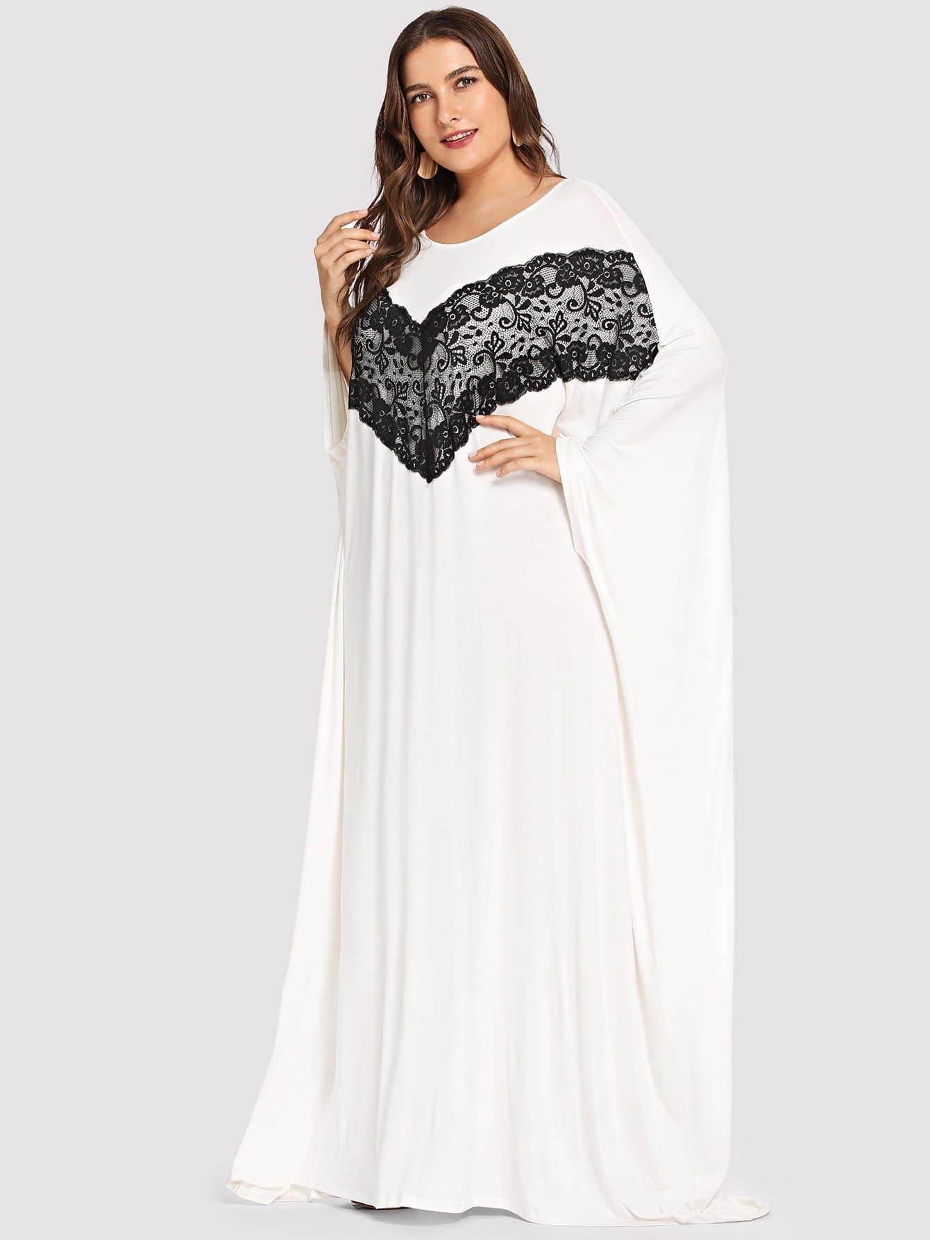 Купить Платье для аксессуаров с двумя тонами, Franziska, SheIn