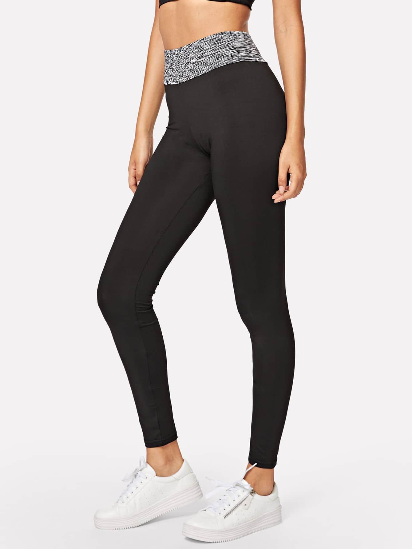 Elastic Waist Skinny Leggings elastic waist skinny leggings
