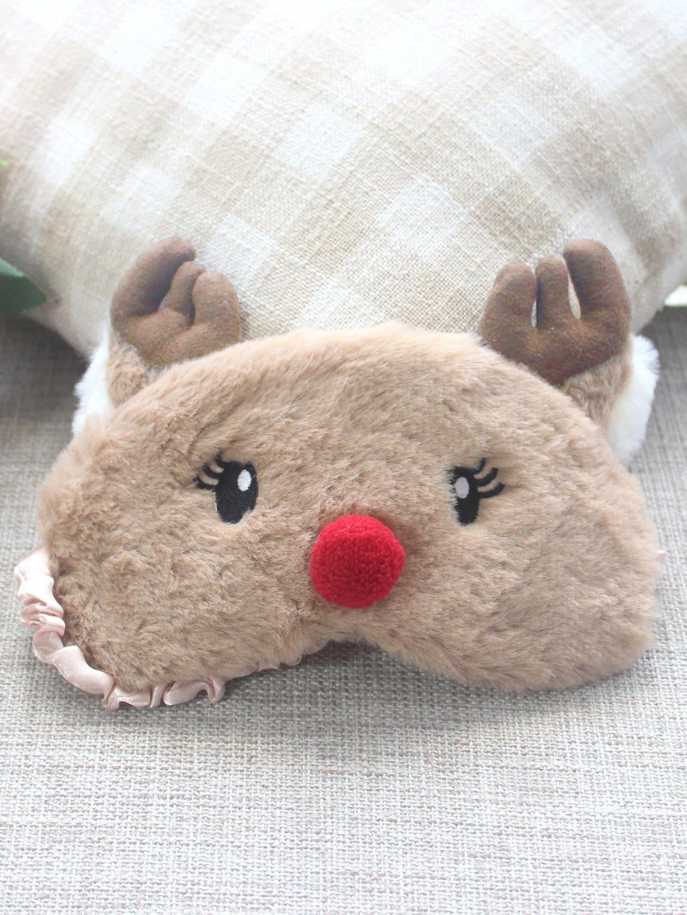 Deer Plush Eye Mask