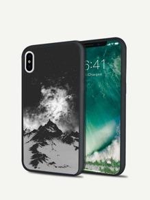 Mountain Print iPhone Case