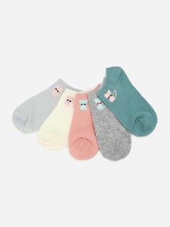Cat Pattern Invisible Socks
