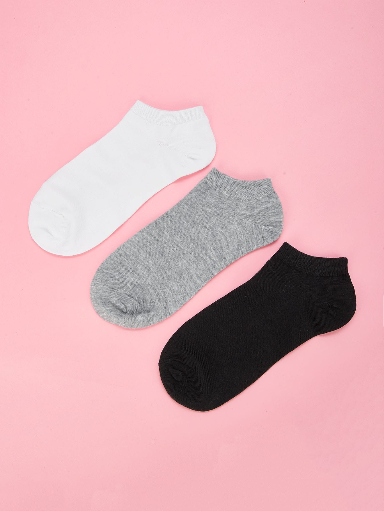 Plain Invisible Socks 3pairs animal embroidery invisible socks 3pairs