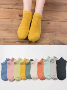 Plain Ankle Socks 10pairs
