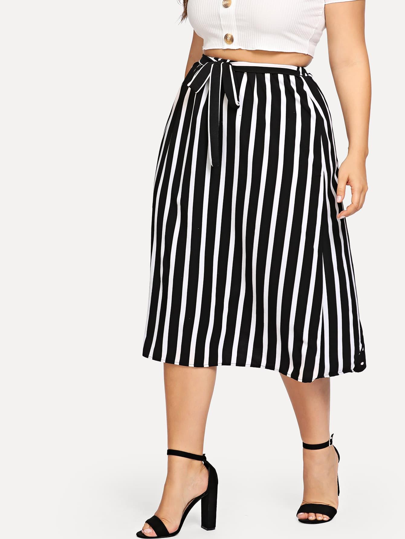 Plus Cut And Sew Mixed Print Skirt для vw golf vi passat b7 сс в логотип моторизованная интерфейс камеры vw passat cc intro camera vdc 200
