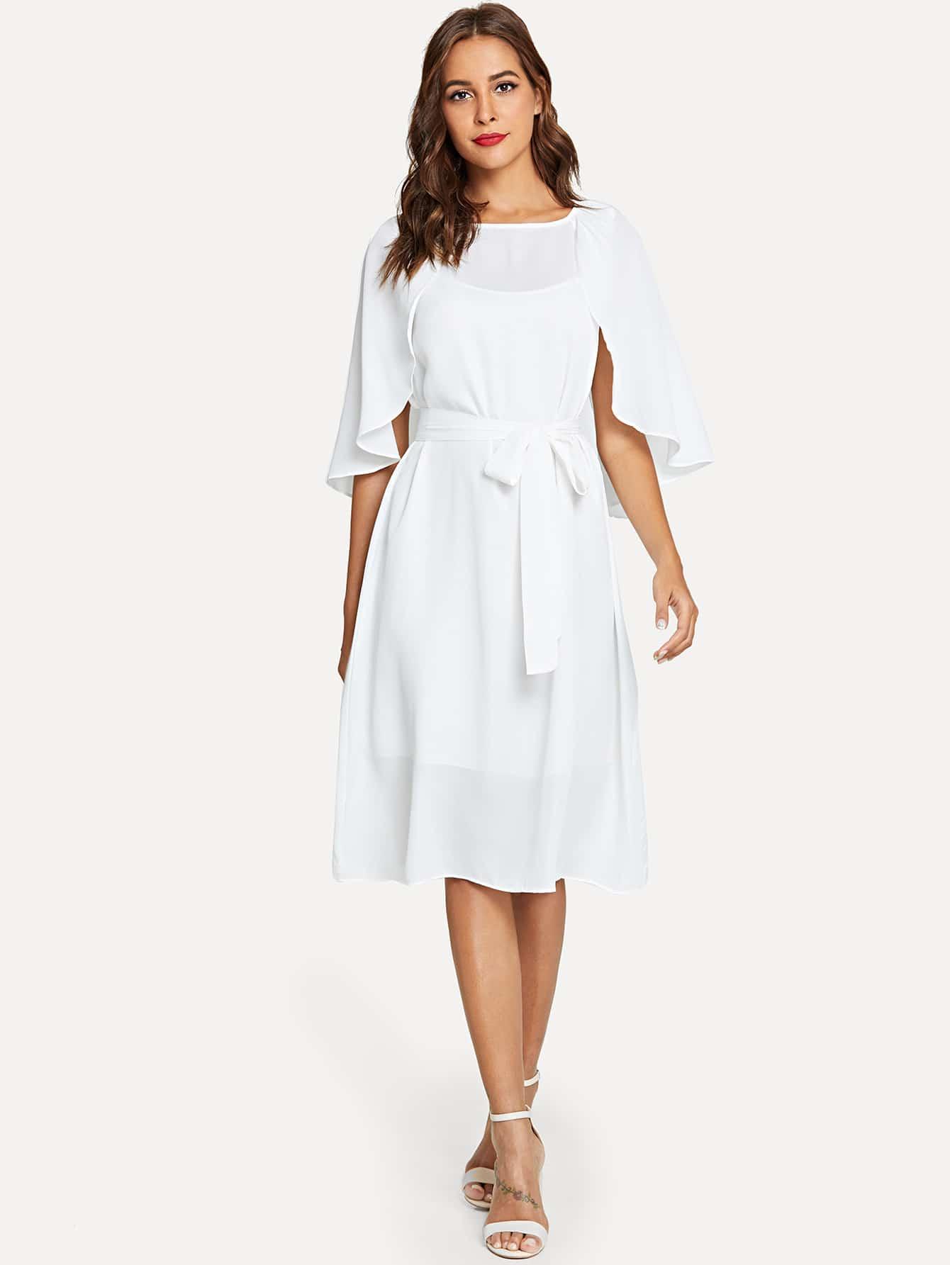 Купить Платье с капюшоном с капюшоном, Giulia, SheIn