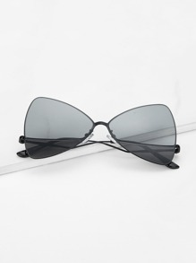 Triangle Shaped Lens Sunglasses
