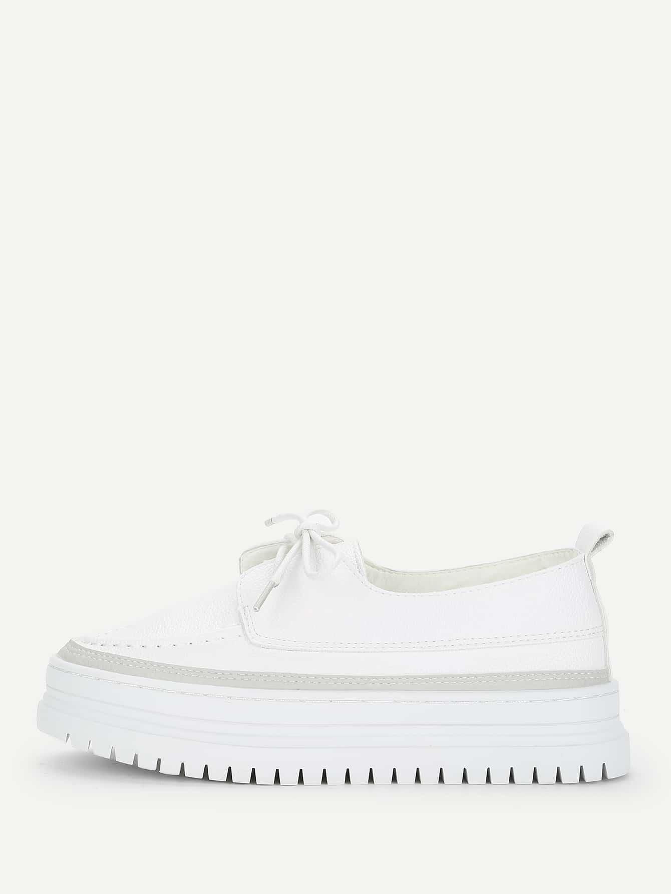 Flatform Lace Up Shoes lace up flatform satin shoes