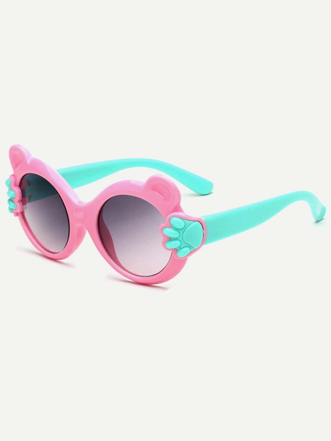 Girls Two Tone Frame Sunglasses полотенце для ванной two tone grafik quelle quelle 239974