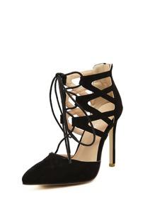 Criss Cross Stiletto Heels