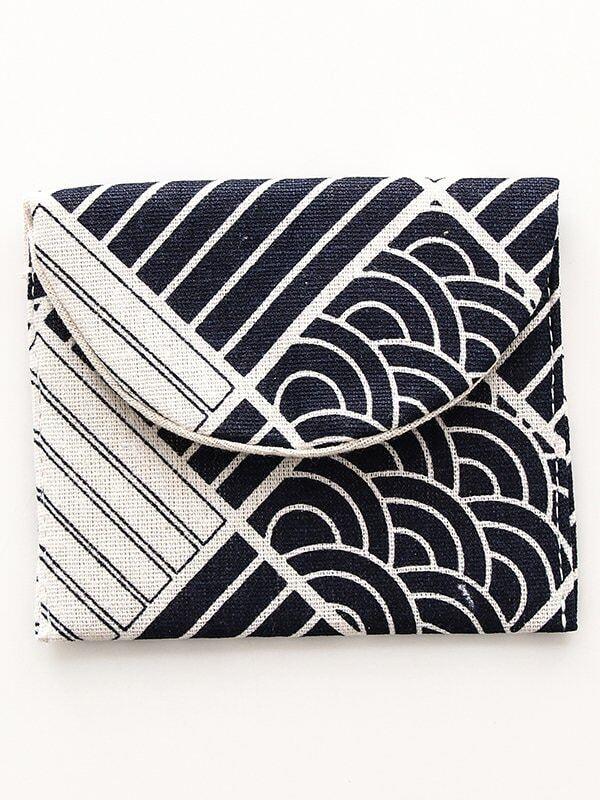 Stripe Pattern Storage Bag