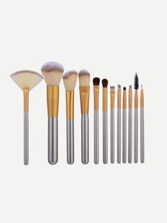 Champagne Gold 12Pcs Makeup Brush Set