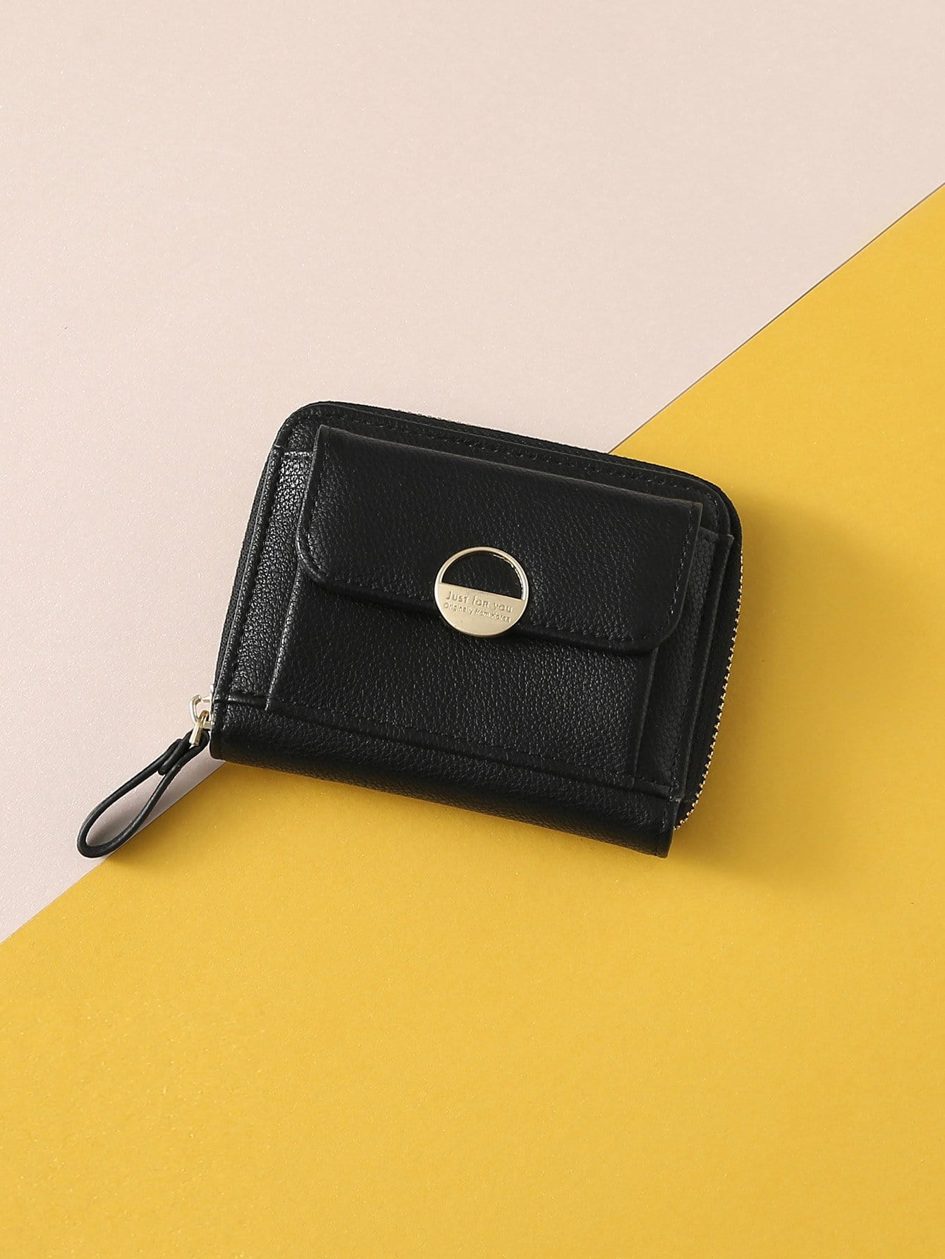 Фото - Zipper Around Coin Purse thinkthendo retro women lady small coin purse mini canvas purse zipper wallet coin key holder pouch handbag