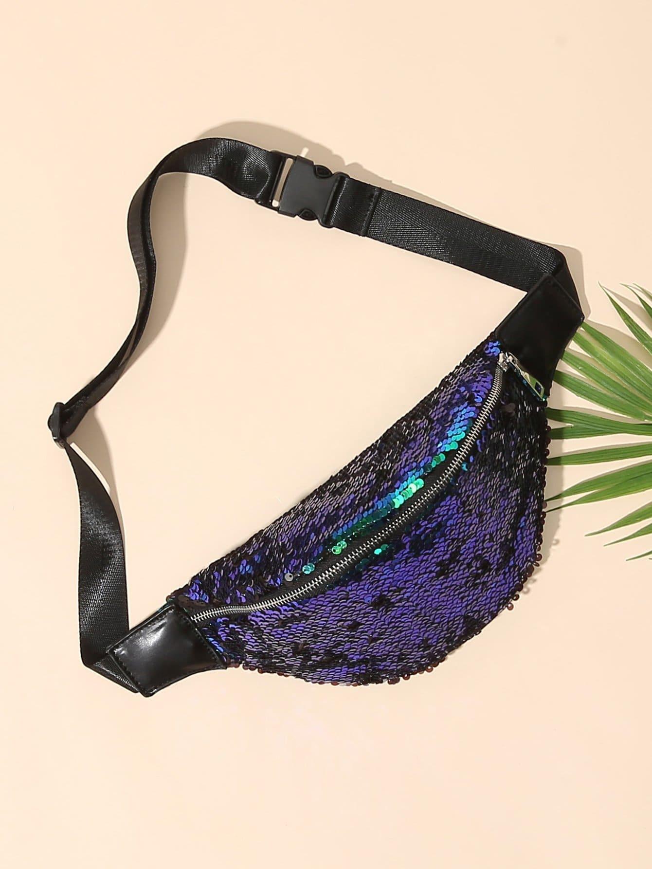 все цены на Sequin Detail Bum Bag