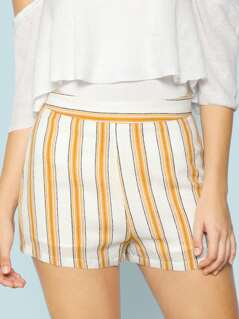 Striped Lounge Shorts