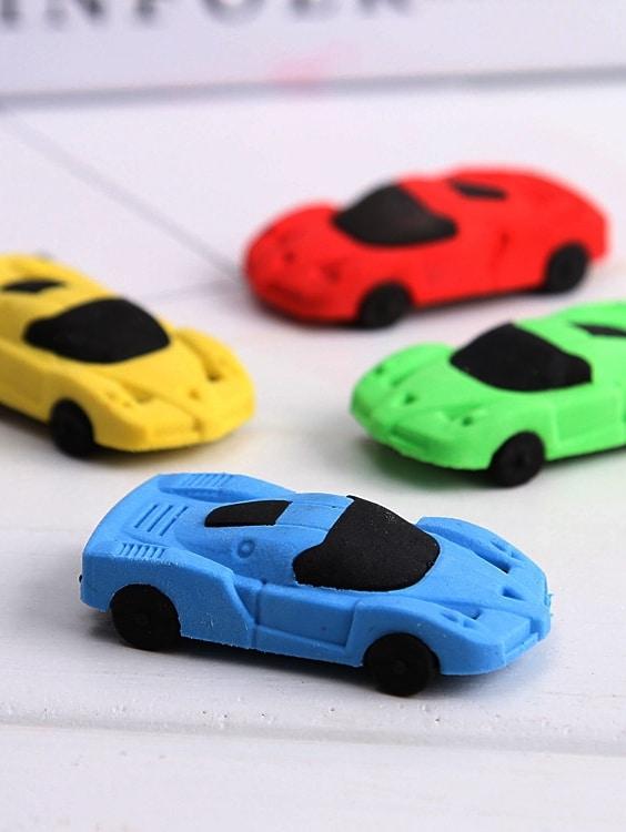 Купить Резинка в форме машины и со случайными цветами 1 шт, null, SheIn
