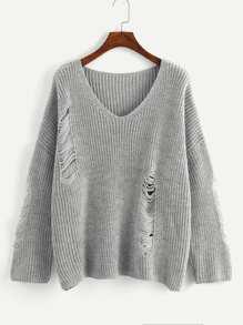 Shoulder | Sweater | Plus