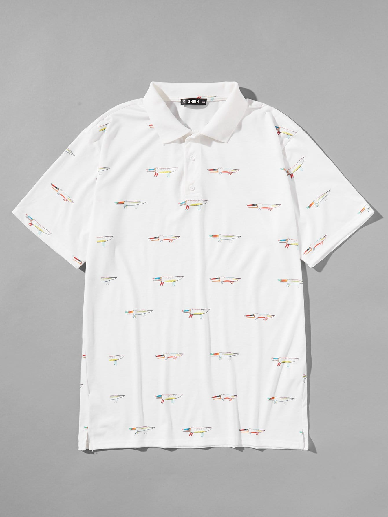 Купить Мужская рубашка для мужчин, null, SheIn