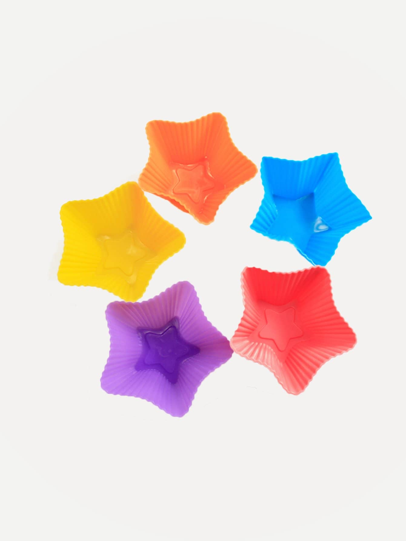 Купить Форма для выпечки и в форме звезды случайных цветов 1 шт, null, SheIn