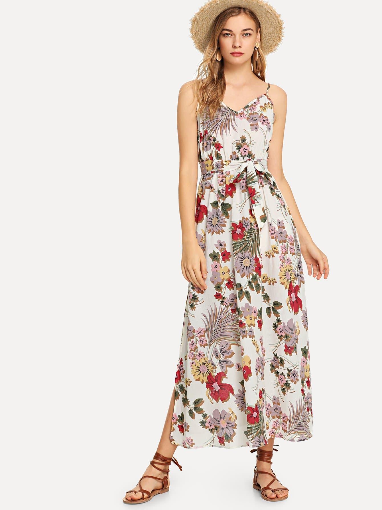 Купить Самоустанавливающееся цветочное платье для ками, Teresa, SheIn