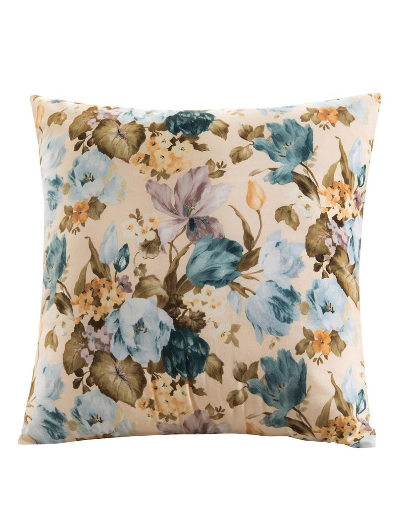 Allover Flower Pillowcase Cover 1PC, Multicolor