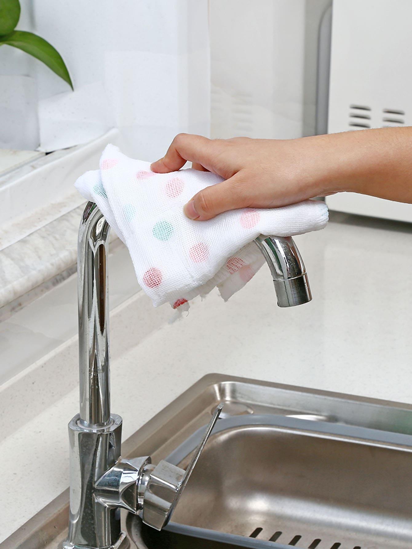 Купить Кухонное полотенце и с рисунками точки, null, SheIn