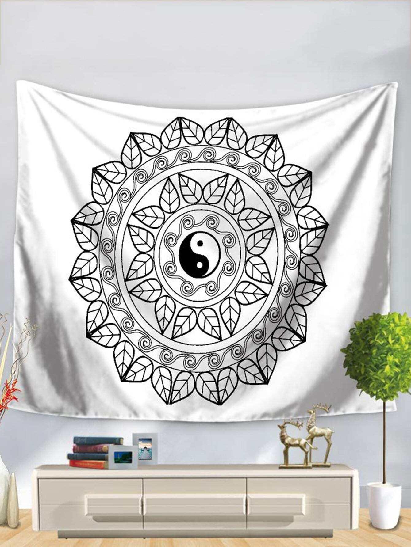 Tai Chi Print Tapestry