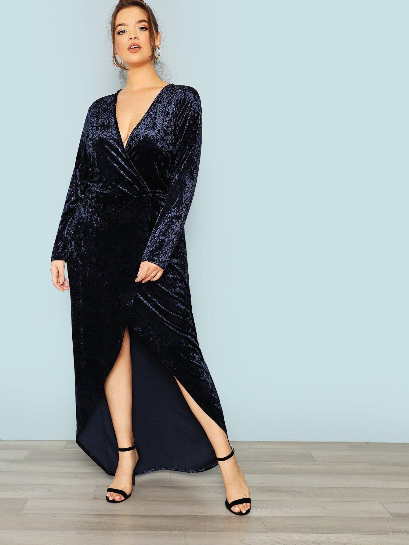Купить Платье с длинным рукавом с длинным рукавом, Bree Kish, SheIn