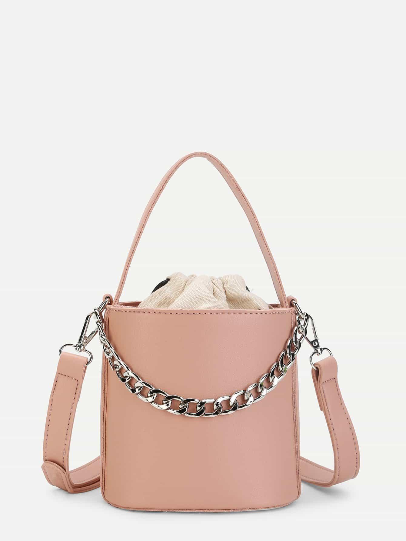 Цепная сумка с сумкой внутренним чехлом