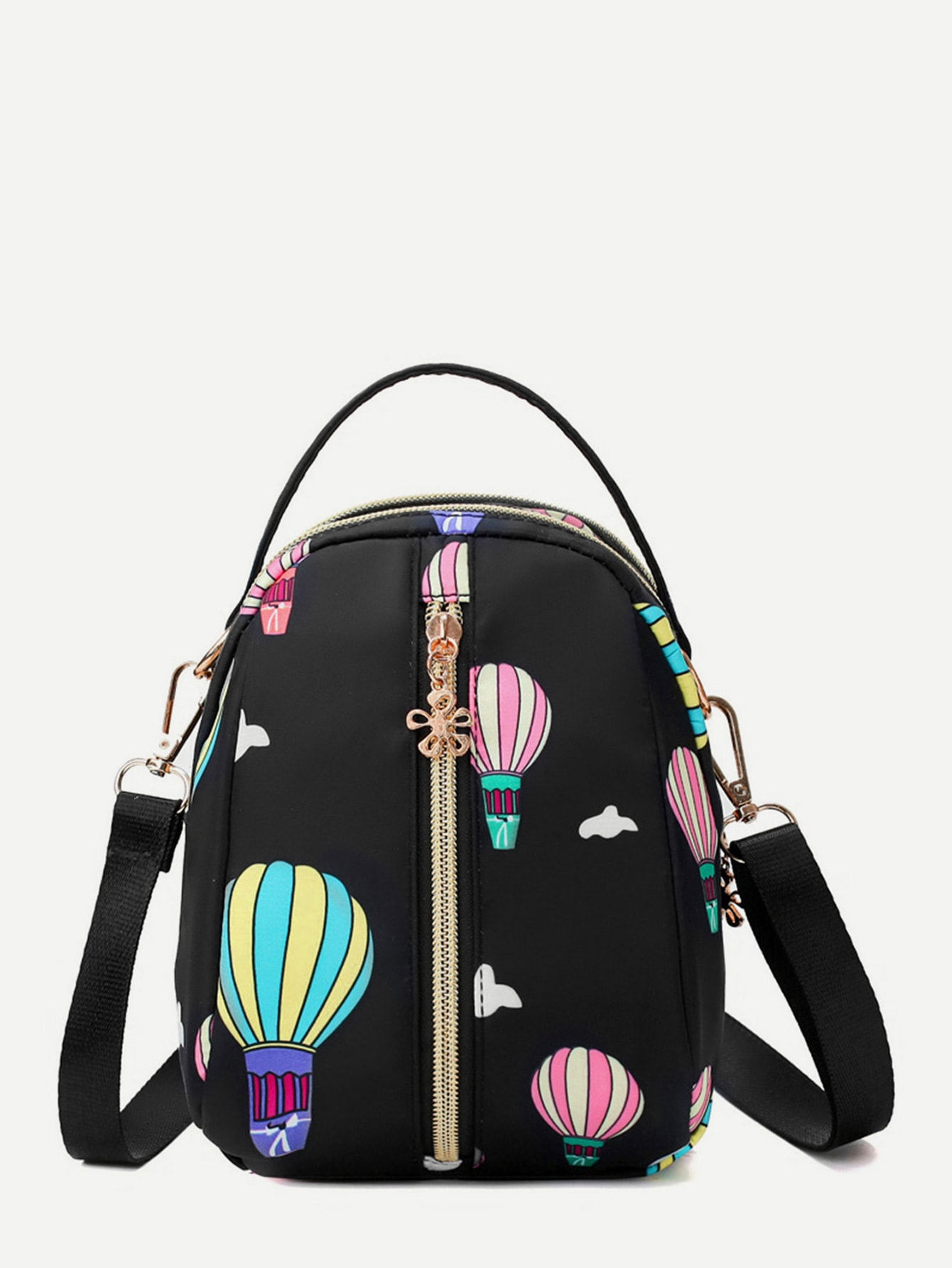 Hot Air Balloon Pattern Backpack