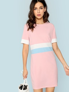 Cut and Sew Tunic Dress