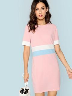 Cut and Sew Tunic Dress