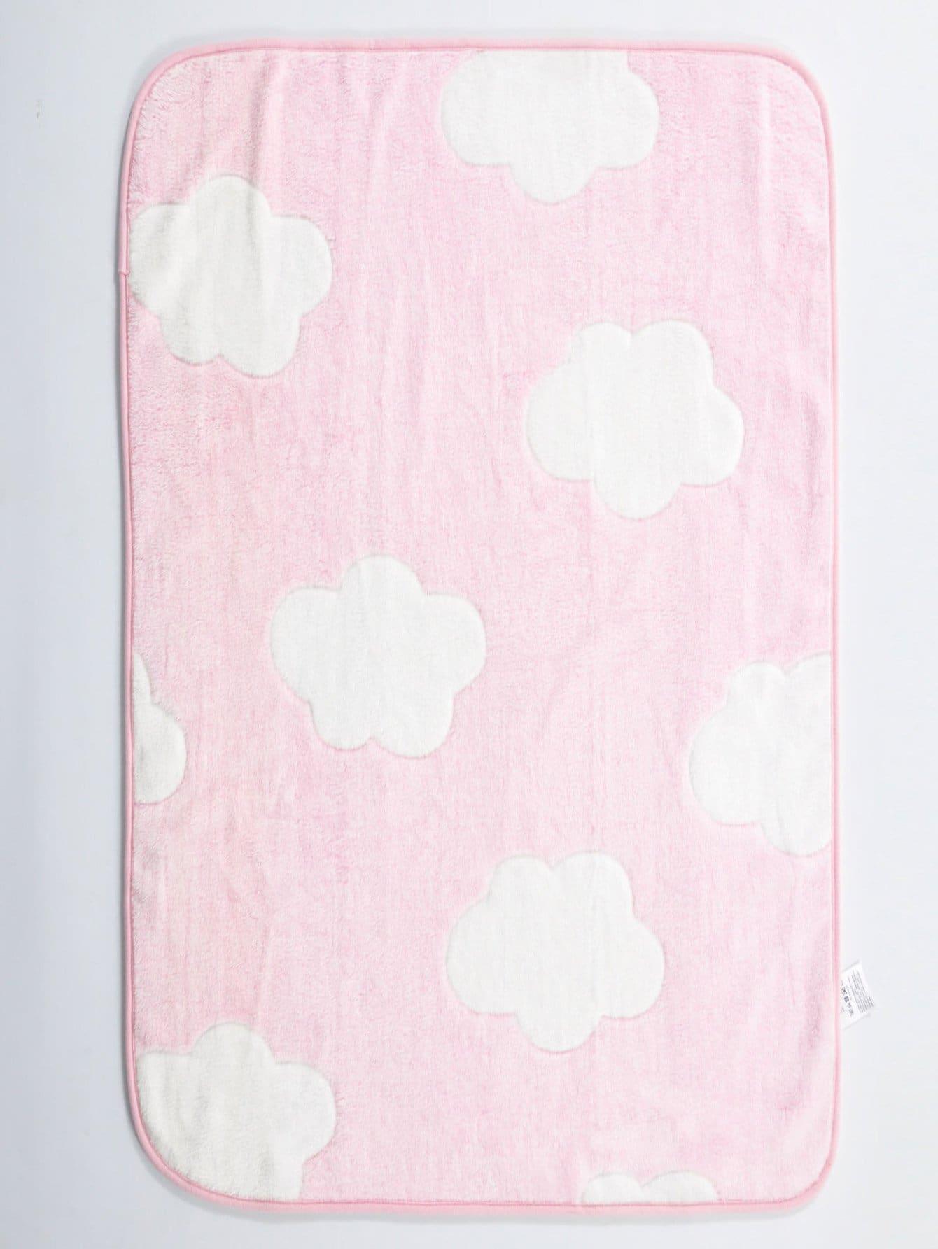 Купить Плюшевое одеяло с рисунками облак для детей, null, SheIn