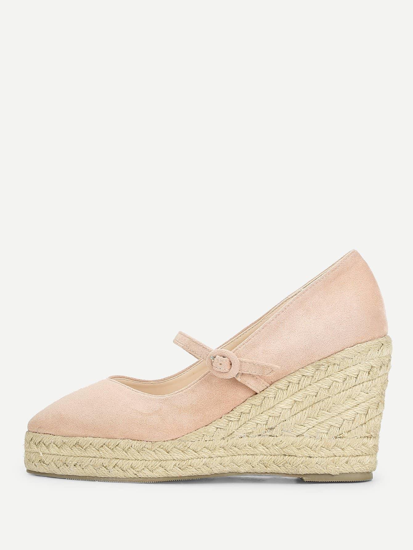 Купить Mary Jane Туфли на танкетке, null, SheIn