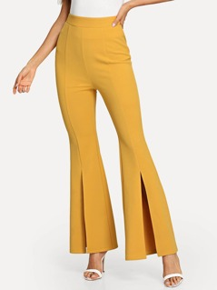 Split Flared Pants