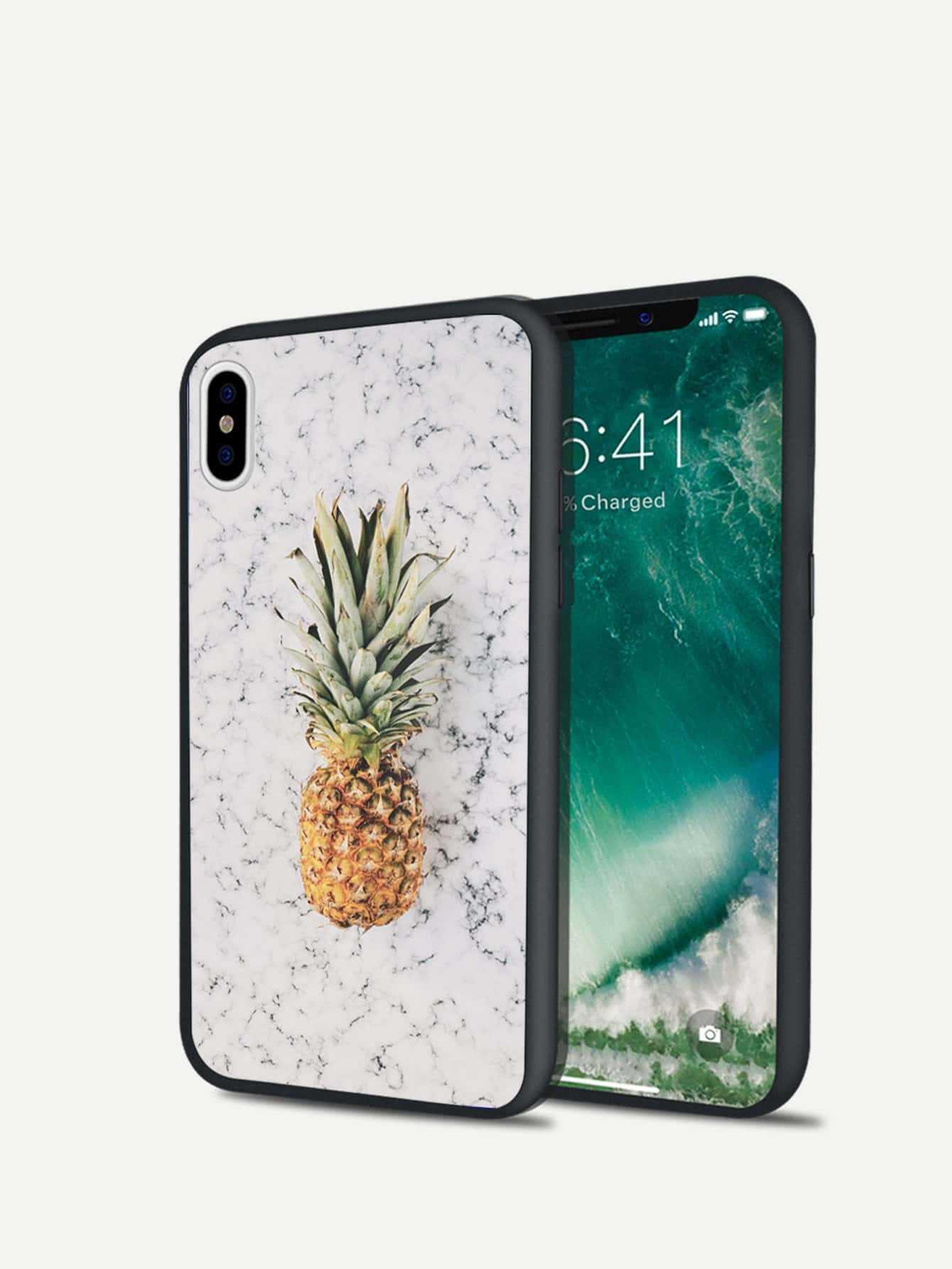 Ananas-Print-iPhone-Hülle